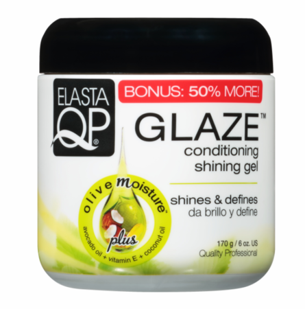 Elasta QP Glaze Shining Gel Conditioning 6 oz - Melanin Beauty Suppliers