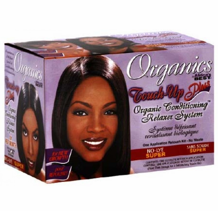 Organics byAfrica's Best Touch Up Plus New Growth Relaxer Super - Melanin Beauty Suppliers