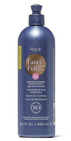 Roux Fanci Full Temporary Hair Color Rinse Bashful Blonde 15.2 oz