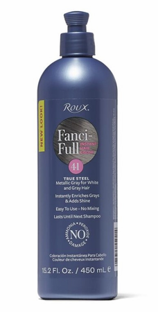 Roux Fanci Full Temporary Hair Color Rinse True Steel 15.2oz