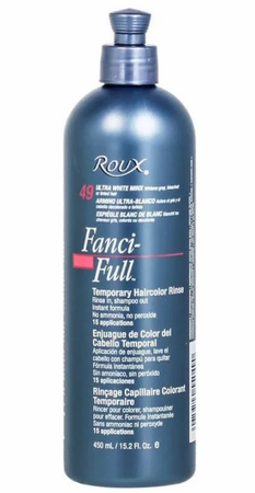 Roux Fanci Full Temporary Hair Color Rinse Ultra White Minx 15.2 oz