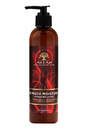 As I Am So Much Moisture Hydrating Lotion 8 oz