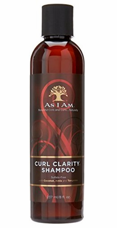 As I Am Naturally Curl Clarity Shampoo 8 oz - Melanin Beauty Suppliers