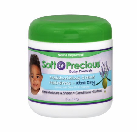 Soft & Precious Baby Moisturizing Creme Hairdress Xtra Dry 5 oz - Melanin Beauty Suppliers