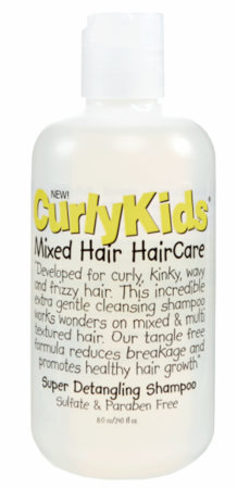 Curly Kids Super Detangling Shampoo 8 oz - Melanin Beauty Suppliers