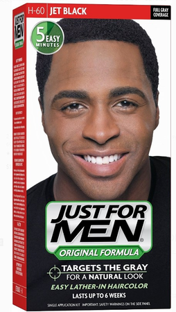 Just For Men Hair ColorJet Black 60 - Melanin Beauty Suppliers