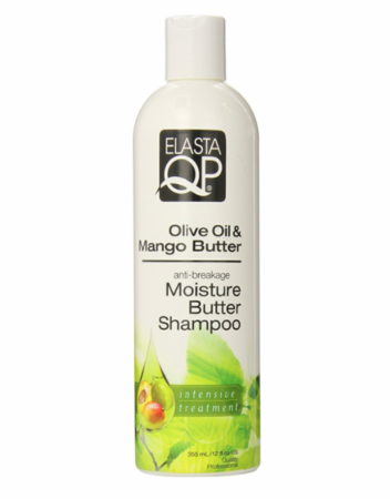 Elasta QP Olive Oil Mango Butter Shampoo 12 fl oz - Melanin Beauty Suppliers