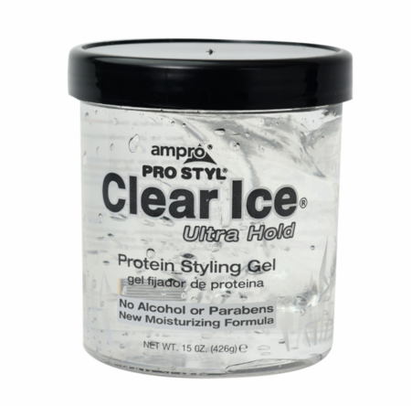 Ampro Clear Ice Styling Gel 15 oz