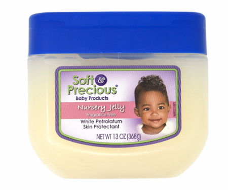 Soft & Precious Nursery Jelly Fragrance FreeSkin Protectant 13oz - Melanin Beauty Suppliers