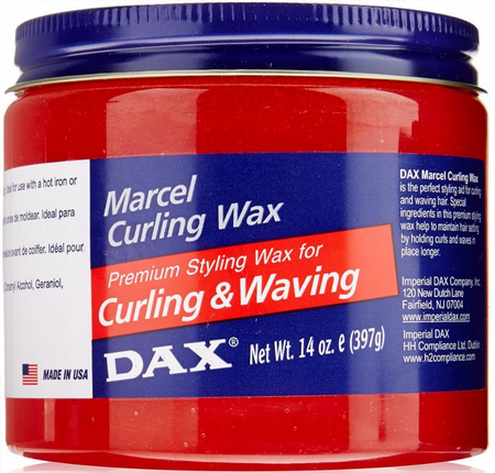Dax Marcel Curling Wax 14 oz - Melanin Beauty Suppliers
