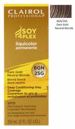 Clairol Professional Soy4Plex Permanent Haircolor Dark Gold Neutral Blonde - Melanin Beauty Suppliers