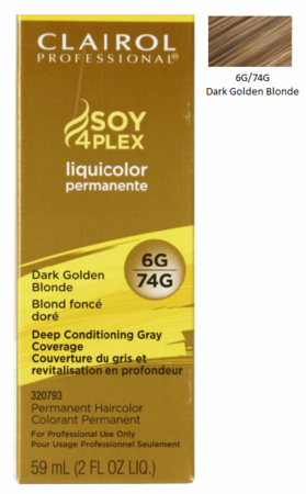 Clairol Professional Soy4Plex Permanent Haircolor Dark Golden Blonde
