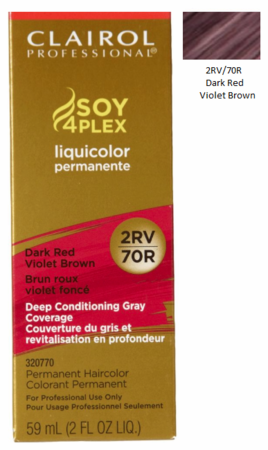 Clairol Professional Soy4Plex Permanent Haircolor Dark Red Violet Brown - Melanin Beauty Suppliers