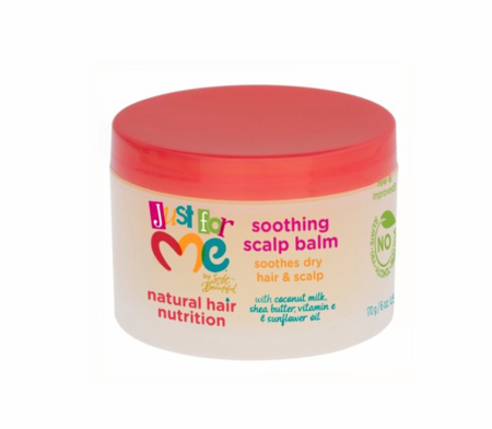 Just For Me Hair Milk Soothing Scalp Balm 6 oz jar