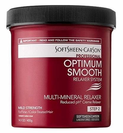 Optimum Multi Mineral Creme Relaxer Mild 14.1 oz - Melanin Beauty Suppliers