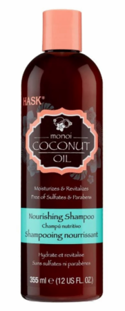Hask Monoi Oil Nourishing Shampoo 12 oz - Melanin Beauty Suppliers