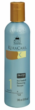 Avlon Keracare Dry & Itchy Scalp Anti Dandruff Moisturizing Shampoo 8 oz bottle