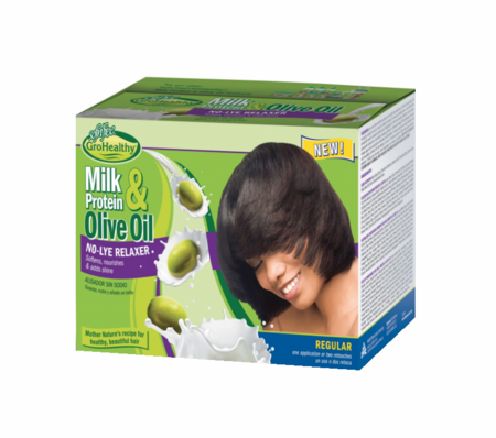 Sofn'Free Milk Protein & Olive Oil No Lye Relaxer Regular - Melanin Beauty Suppliers