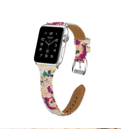 Floral Stealth Leather - Untold Time