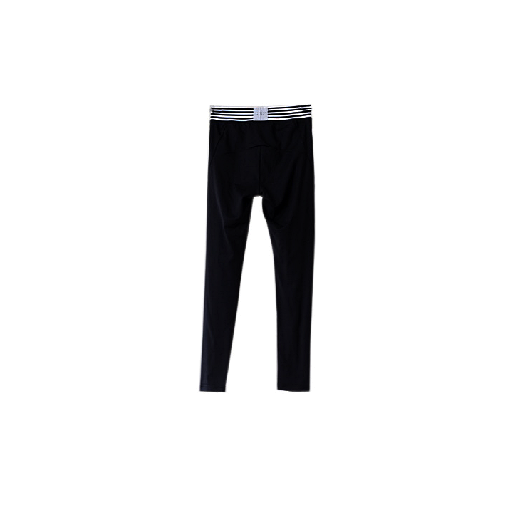 Jasmine Alexa black and white monochrome activewear leggings with zips