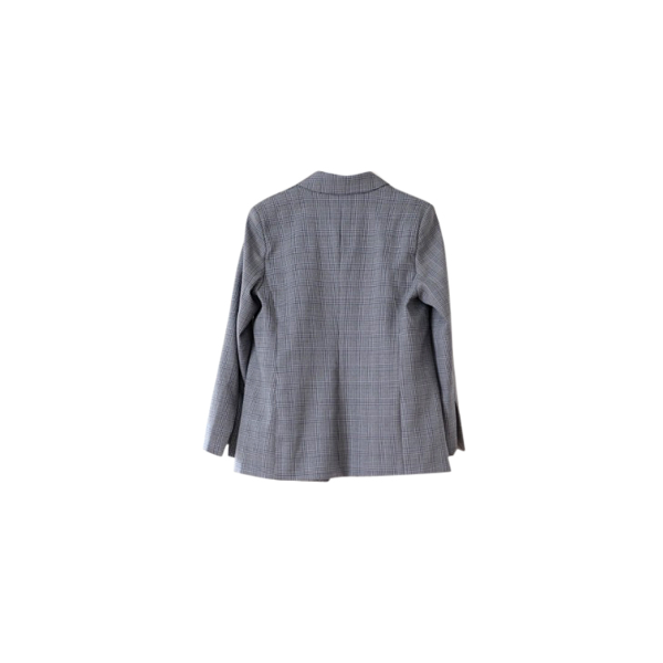 Rudi Miro Oversized grey check blazer