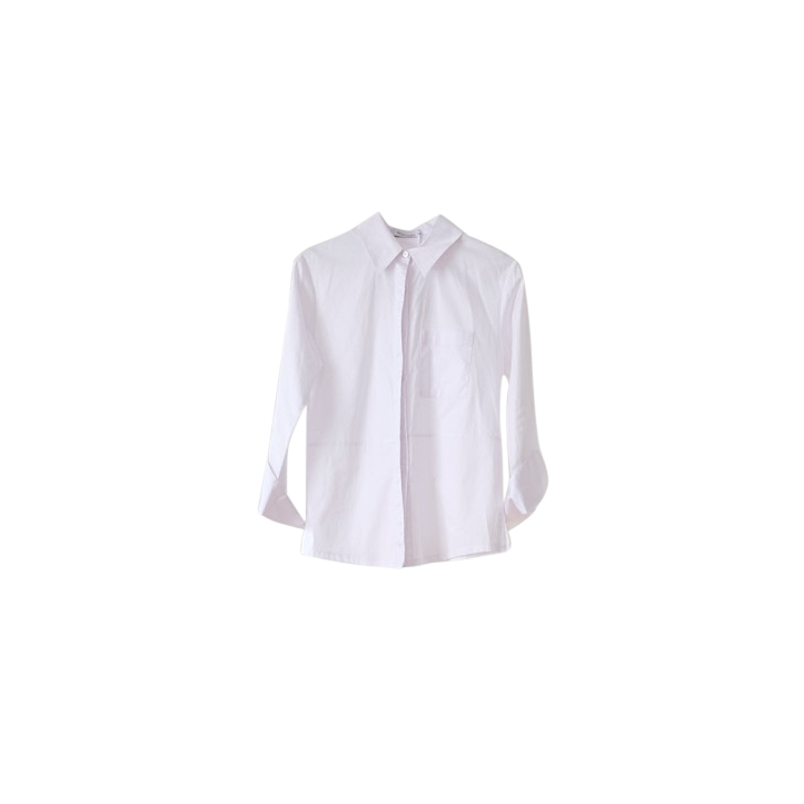 Rudi Miro White Classic Button Down Shirt