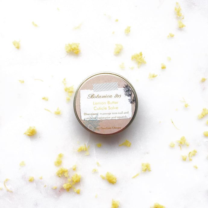 Lemon Butter Cuticle Salve