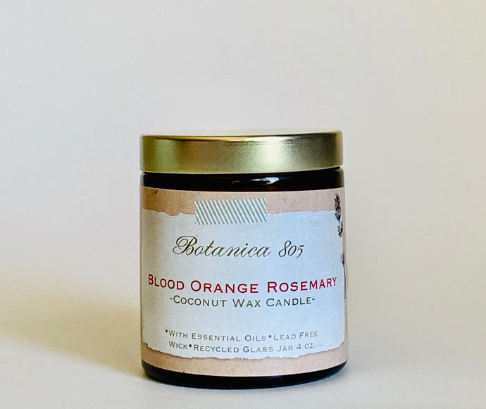 Blood Orange Rosemary Coconut Wax Candle