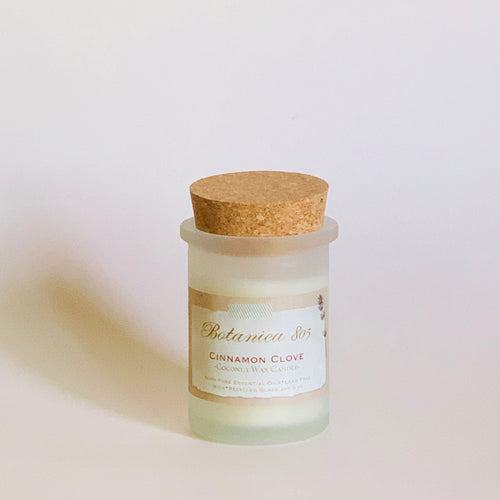 Cinnamon Clove Coconut Wax Candle