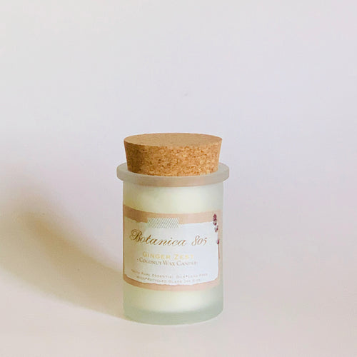 Ginger Zest Coconut Wax Candle