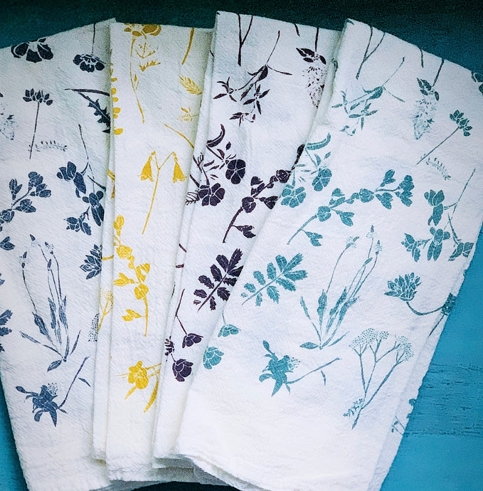 Mixed Wildflower Napkins