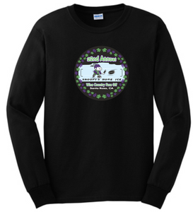 WCFO branded 100% Cotton Long Sleeve Tee Adult sizes