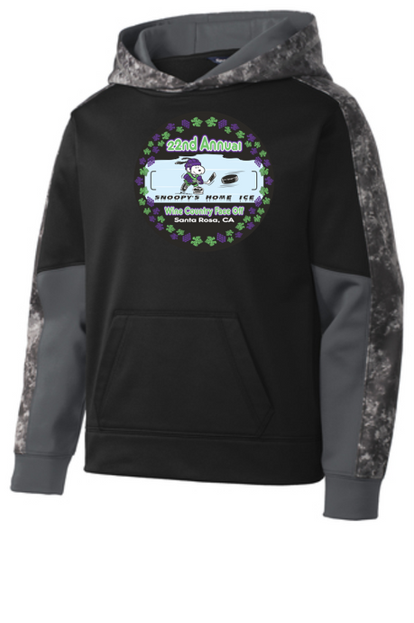 WCFO branded 100% Poly Pullover Sweat Shirt Youth sizes