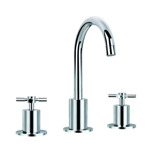 Standard Bathroom High Arc Faucet Double Handle