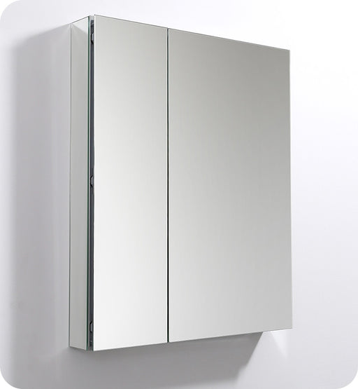 "Fresca 30"" Wide x 36"" Tall Bathroom Medicine Cabinet w/ Mirrors"