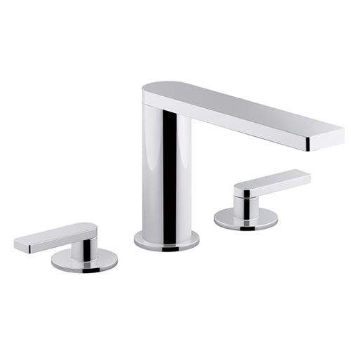 Composed Widespread Double Handle Bathroom Faucet