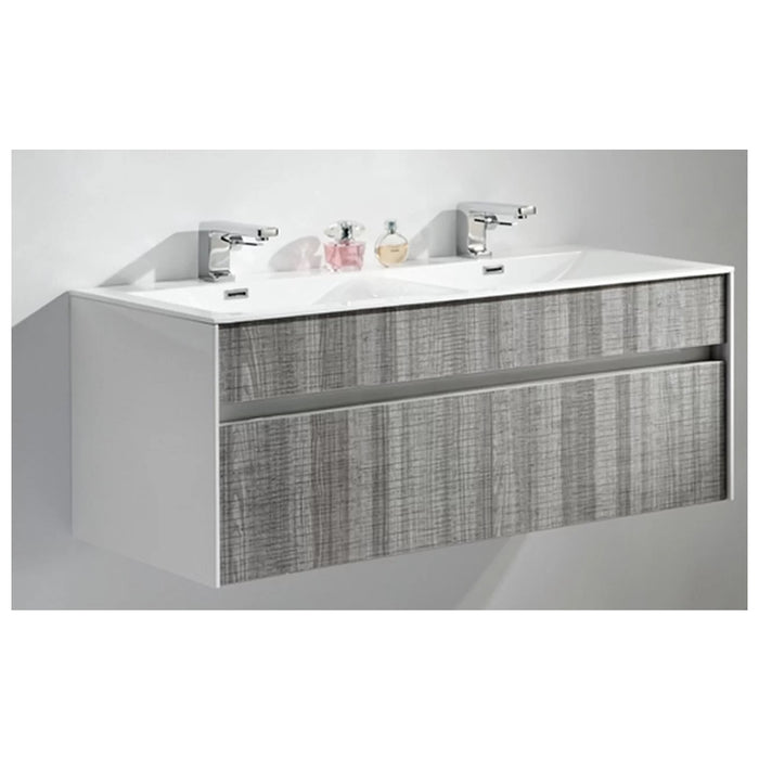 "47"" Double Bathroom Modern Free Standing Vanity Set"