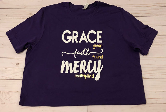 Grace. Faith. Mercy.