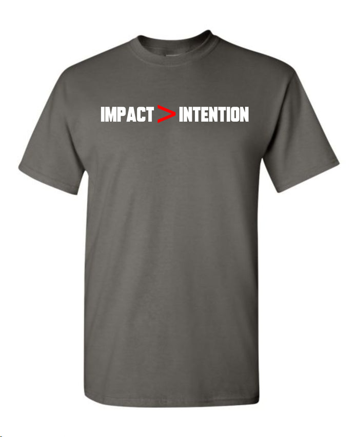 IMPACT > INTENTION (Charcoal)