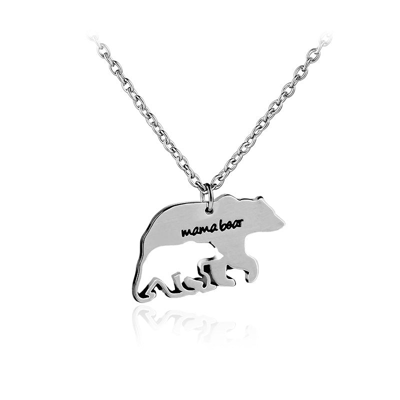 bear mom jewelry bearbeary mama necklace products