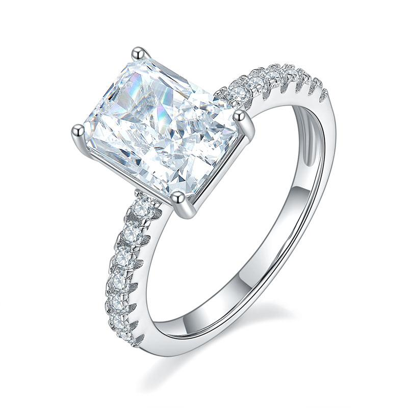 3 Carat Princess Cut Ring