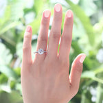 2 Carat Round Cut Zopius Diamond Ring