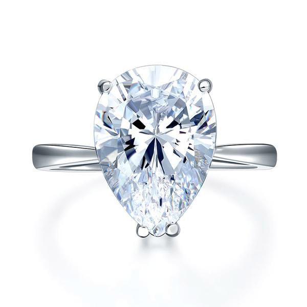4.5 Carat Pear Cut Ring