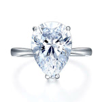 4.5 Carat Pear Cut Zopius Diamond Ring
