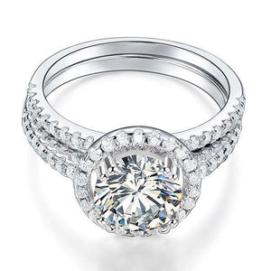 2 Ct Round Zopius Diamond Ring