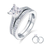 1.5 Ct Princess Cut Zopius Diamond Ring