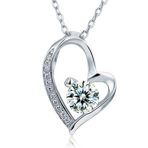 925 silver heart pendant necklace paradise cove jewelers 925 silver heart pendant necklace aloadofball Images