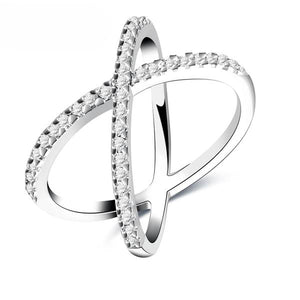 X Shape Ring
