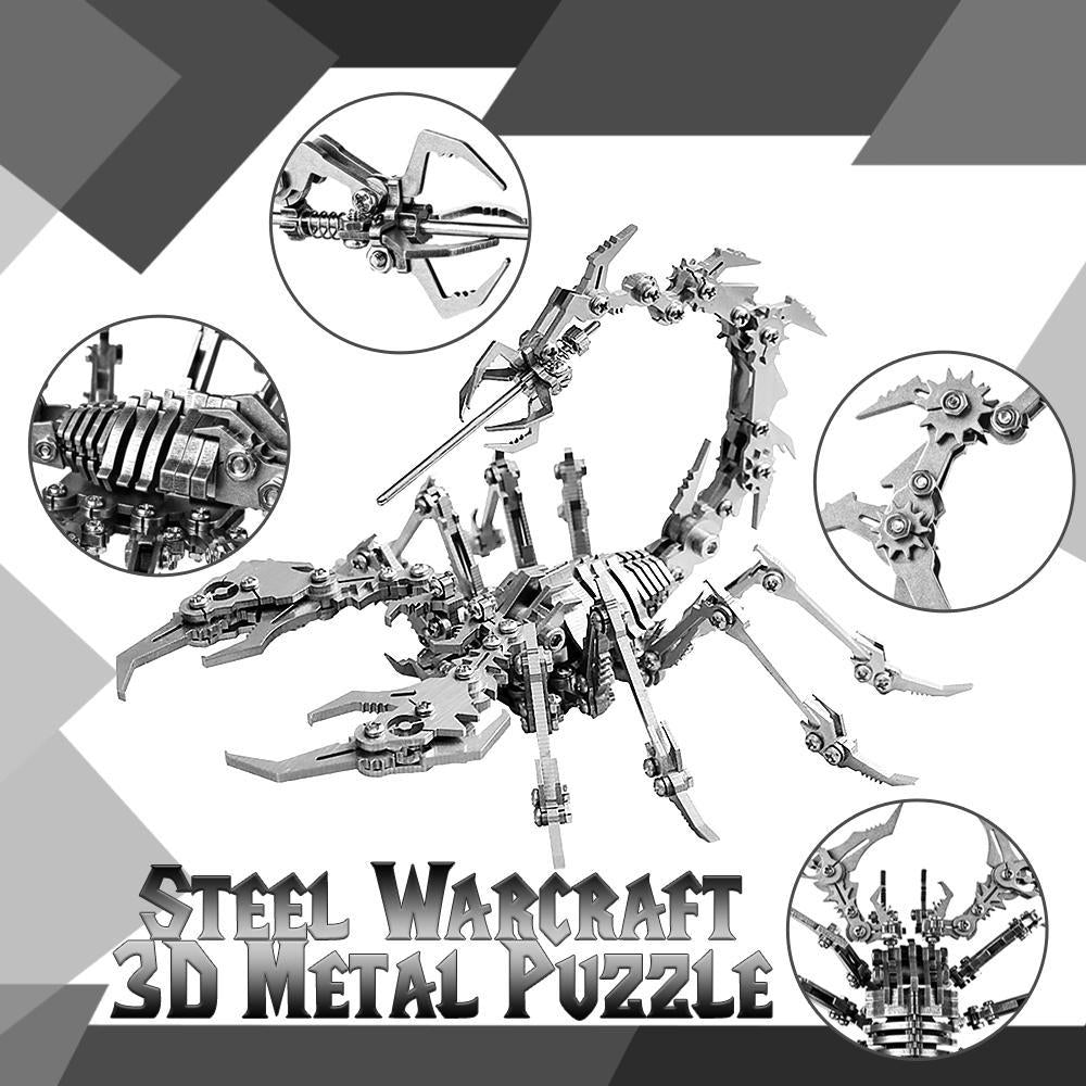 Puzzle 3D metalic - Scorpion