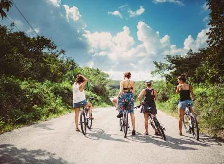 An other way of discovering Tulum with Frankie by bike